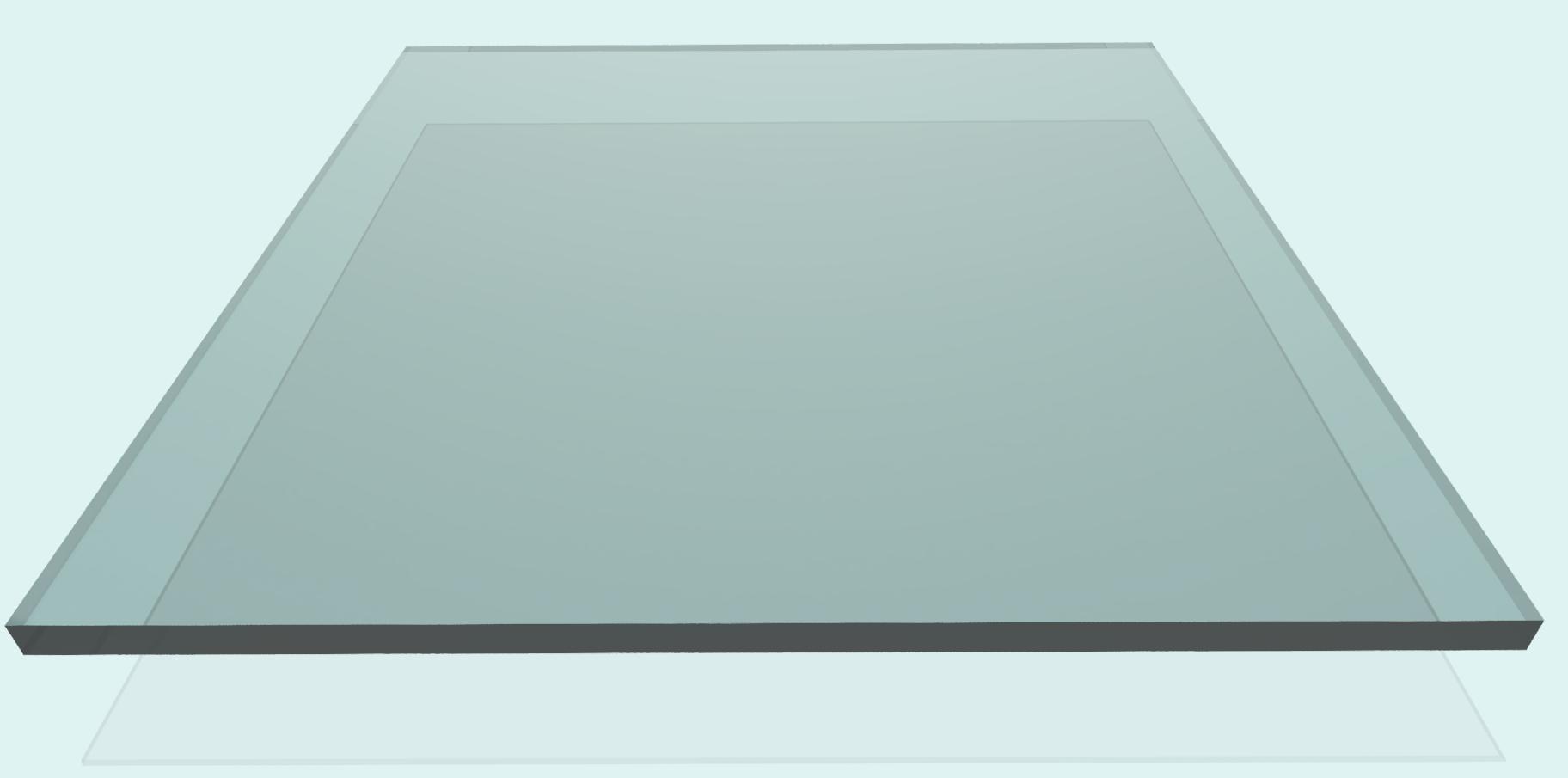 Plexiglas 6 mm, klar
