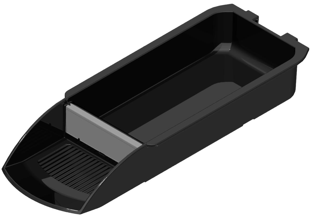 Schalenbehälter 110x270 ESD, schwarz-8