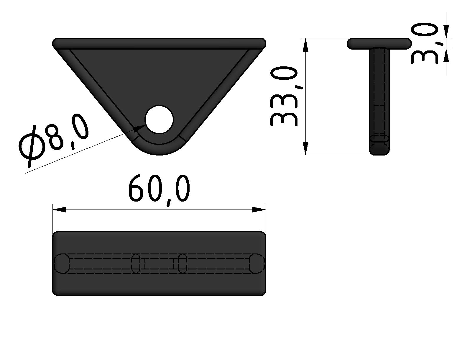Werkzeugschlitten, schwarz - 10