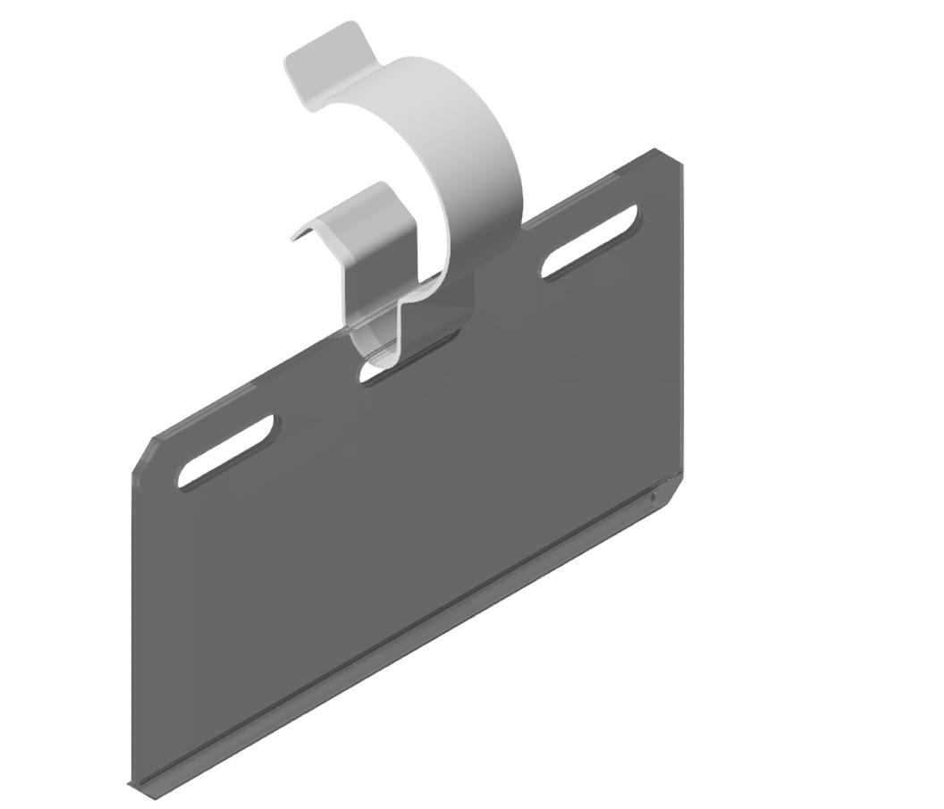 Beschriftungsträger D30-100, transparent