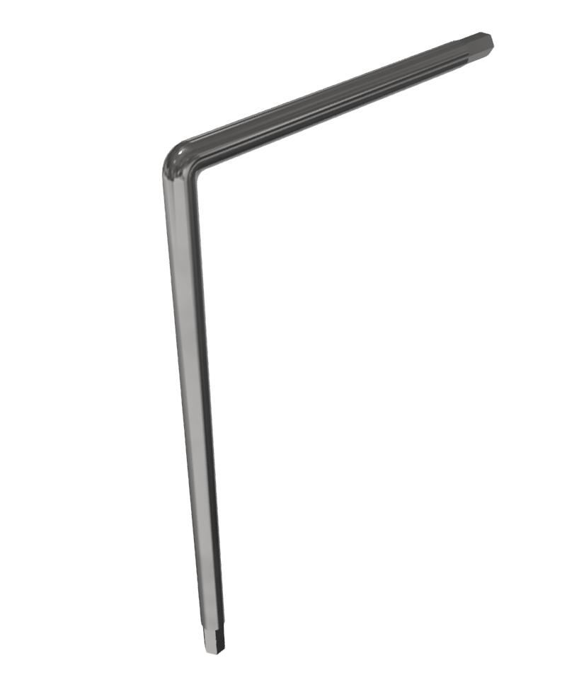 Winkel-Schraubendreher Schlüsselweite 4 mm