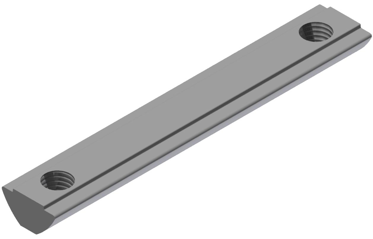 Nutenstein 2xM8-79,5 steg, verzinkt-8