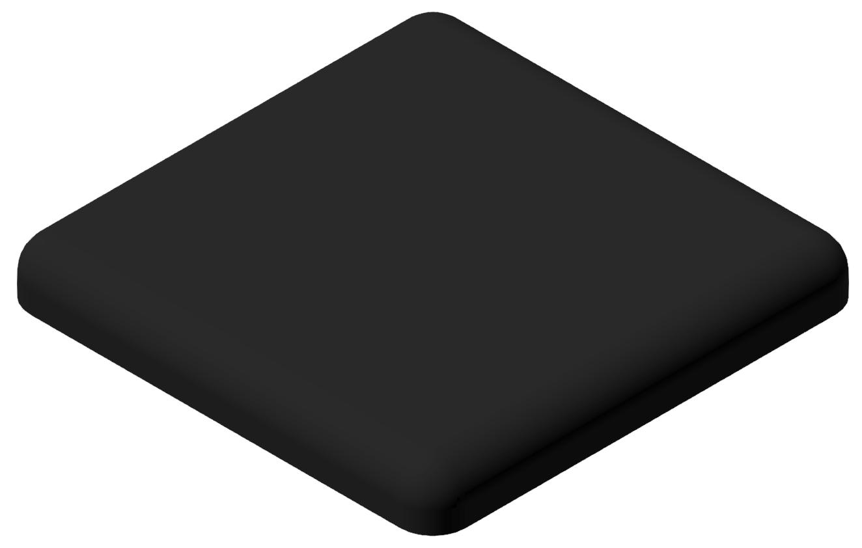 Abdeckkappe 20x20, schwarz-6