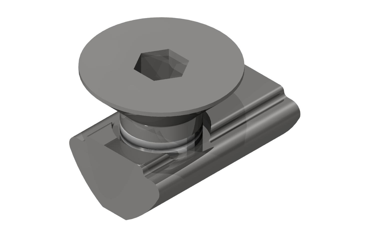 Befestigungssatz 5 2-4mm mit Senkschraube M5