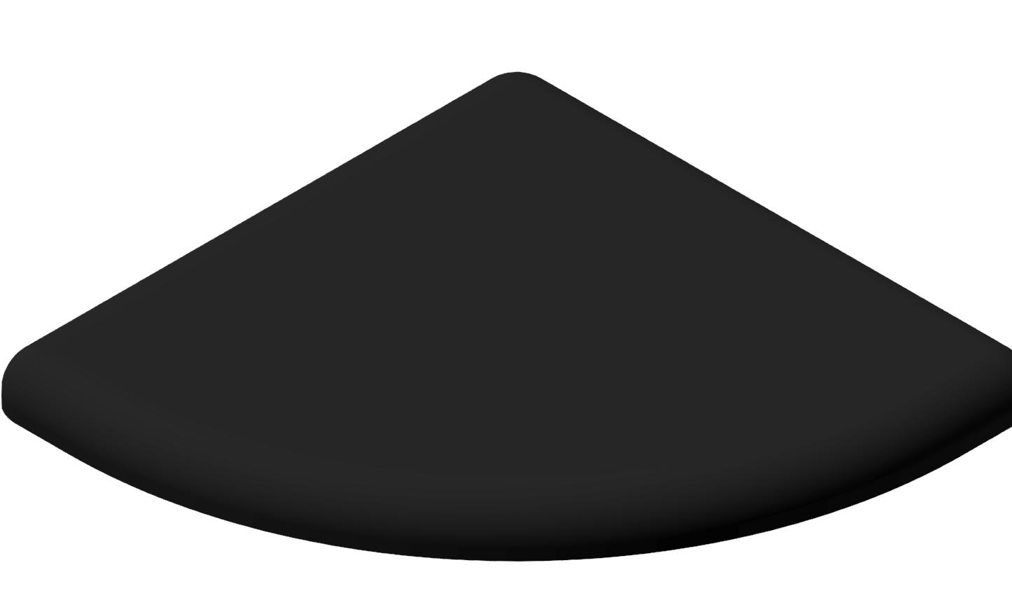 Abdeckkappe 45x45 R, schwarz-10