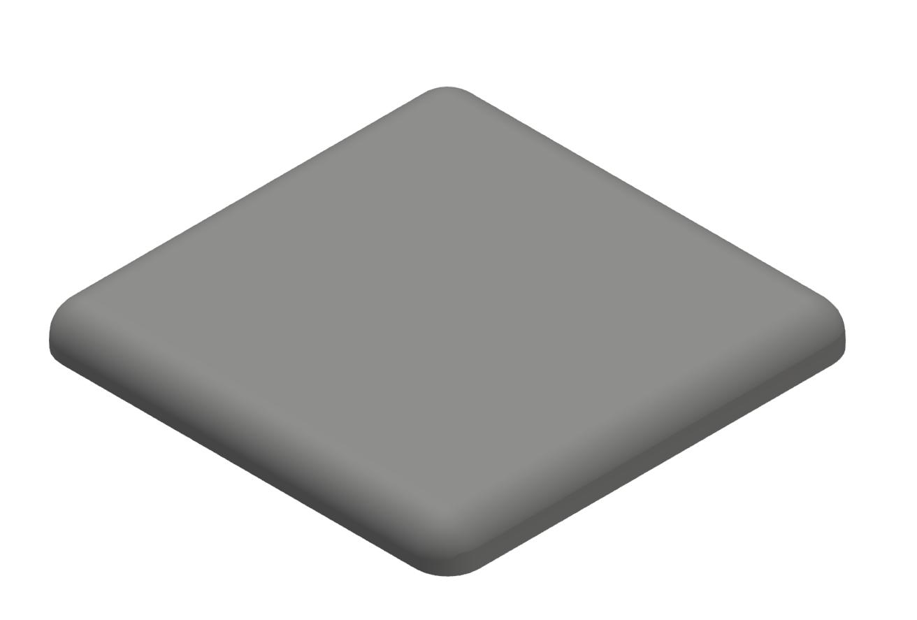 Abdeckkappe 20x20, grau-6