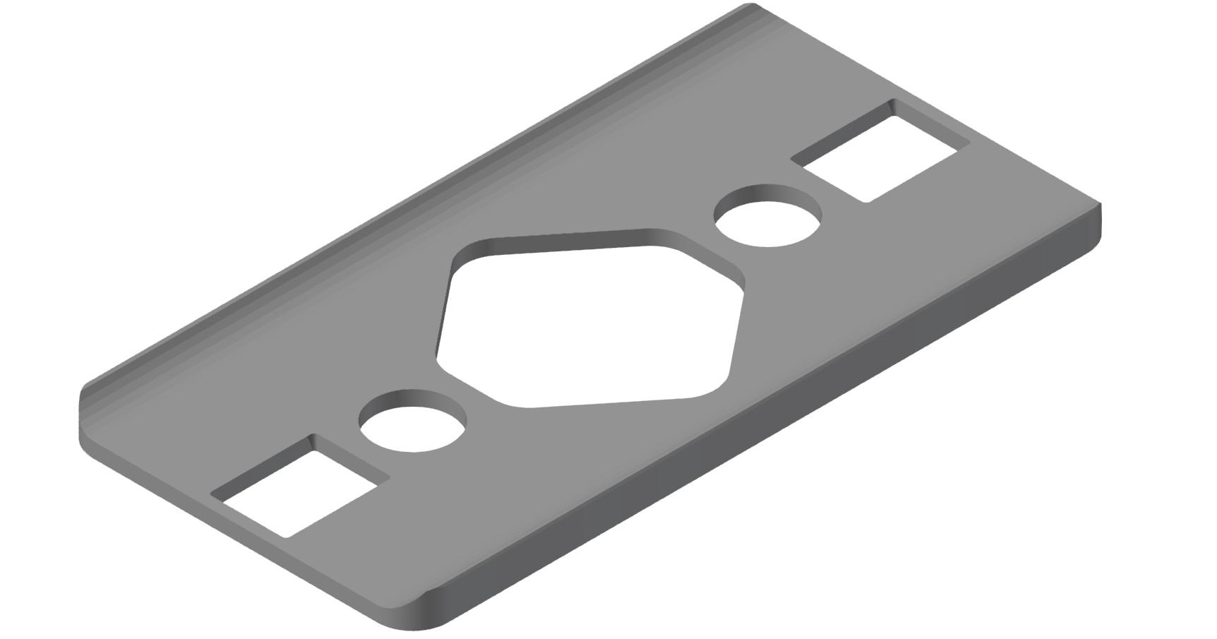 Radien-Dichtung 6 60x30 R60, grau