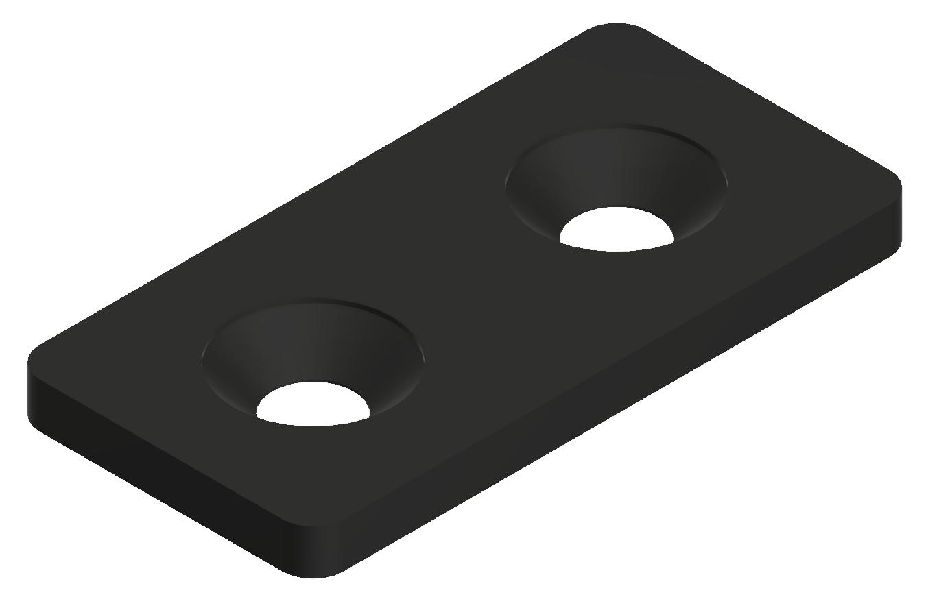 Lasche 20 ST, schwarz-6