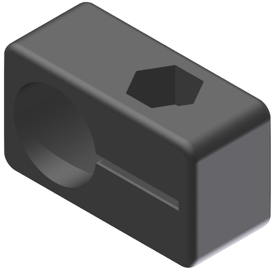Endschalterhalter D12, schwarz-8