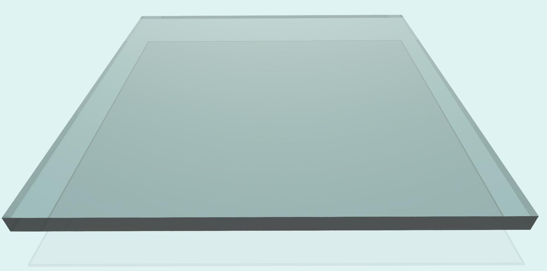 Plexiglas 8 mm, klar