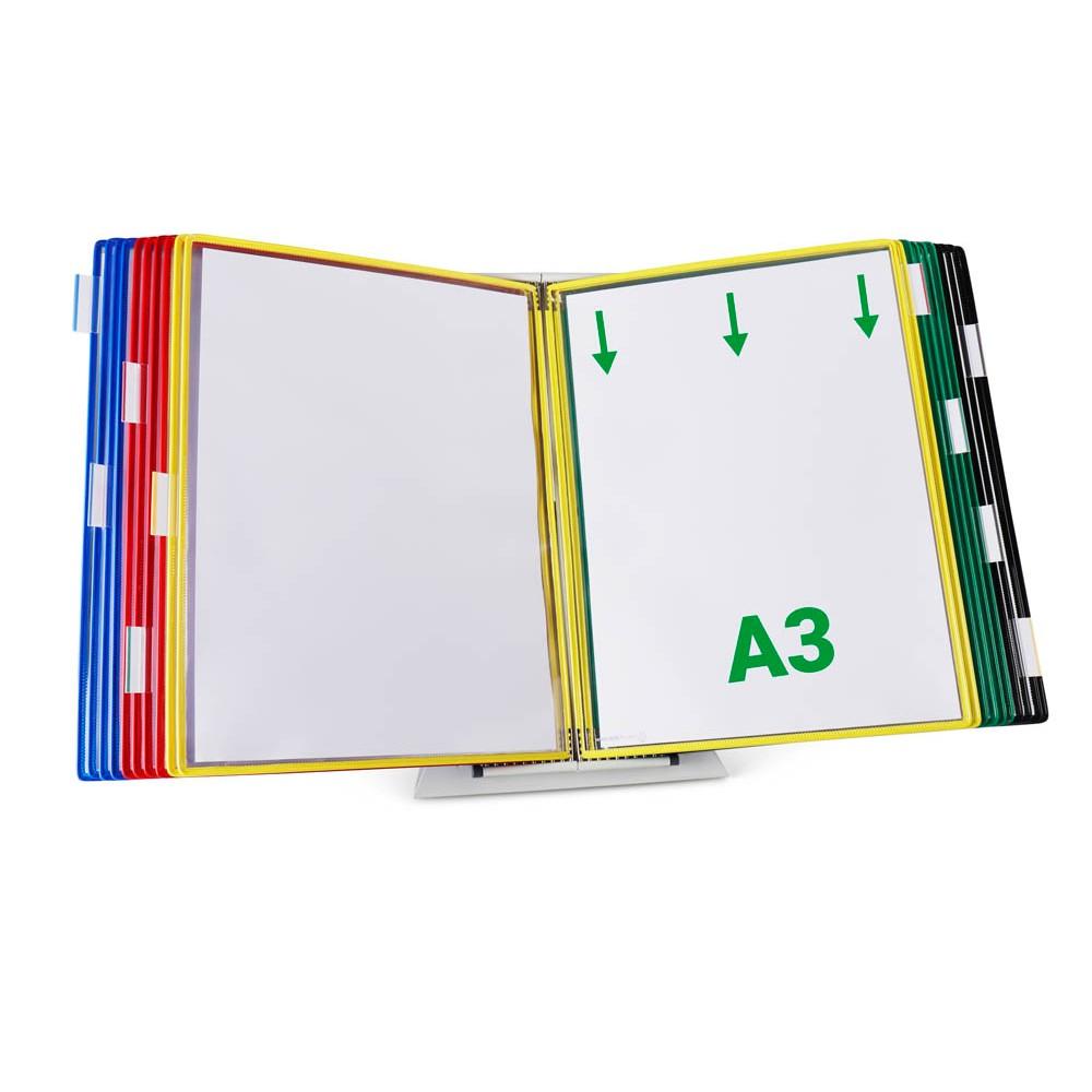 Sichttafelsystem A3 farbig 10 Drehtafeln-8