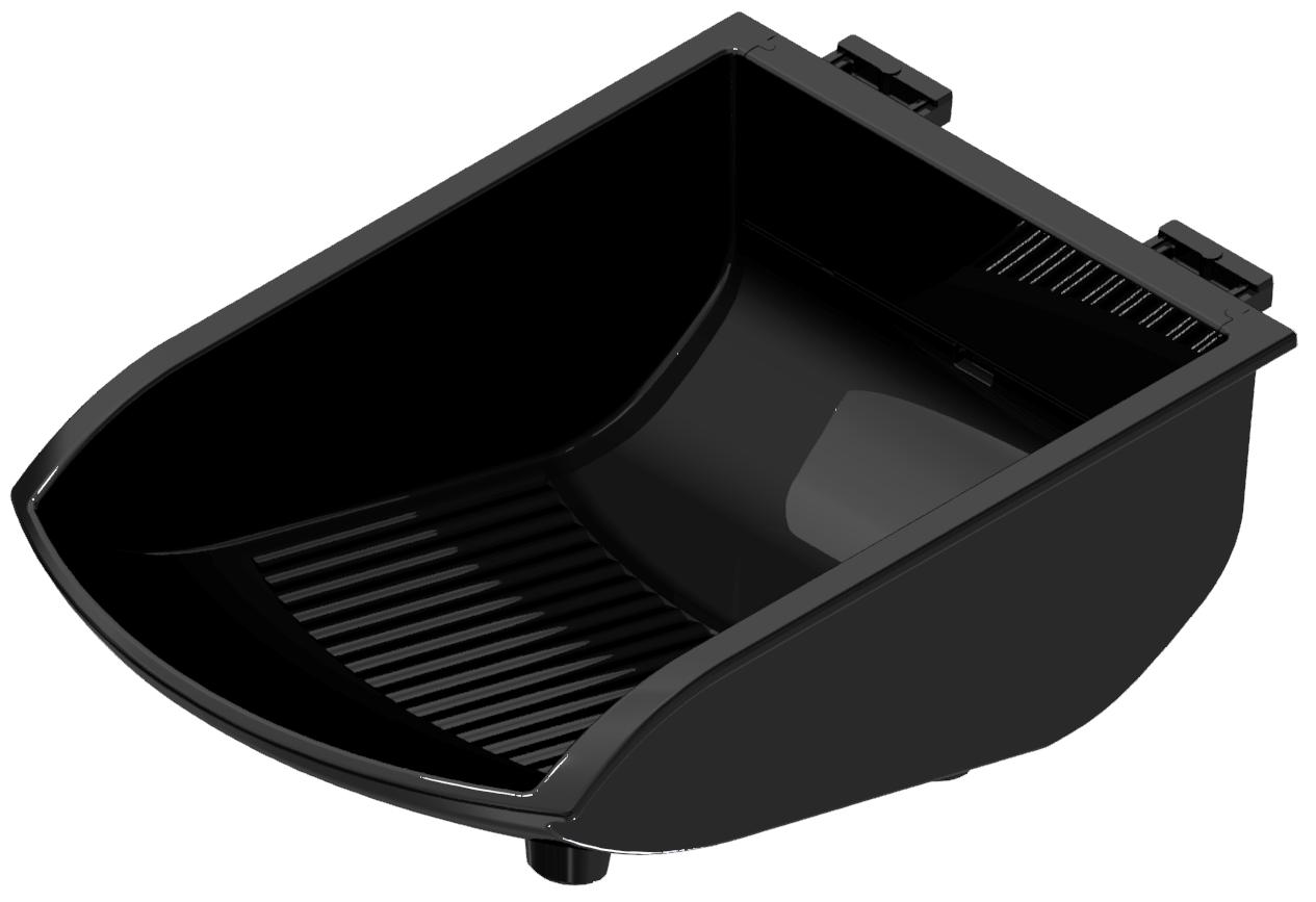 Greifschale 105x130 ESD, schwarz-8