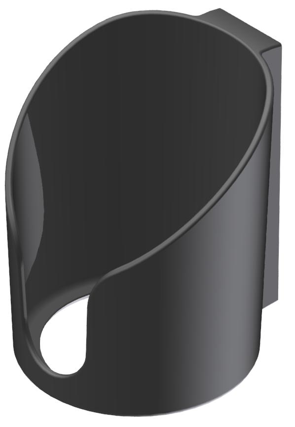 Becherhalter, schwarz-8