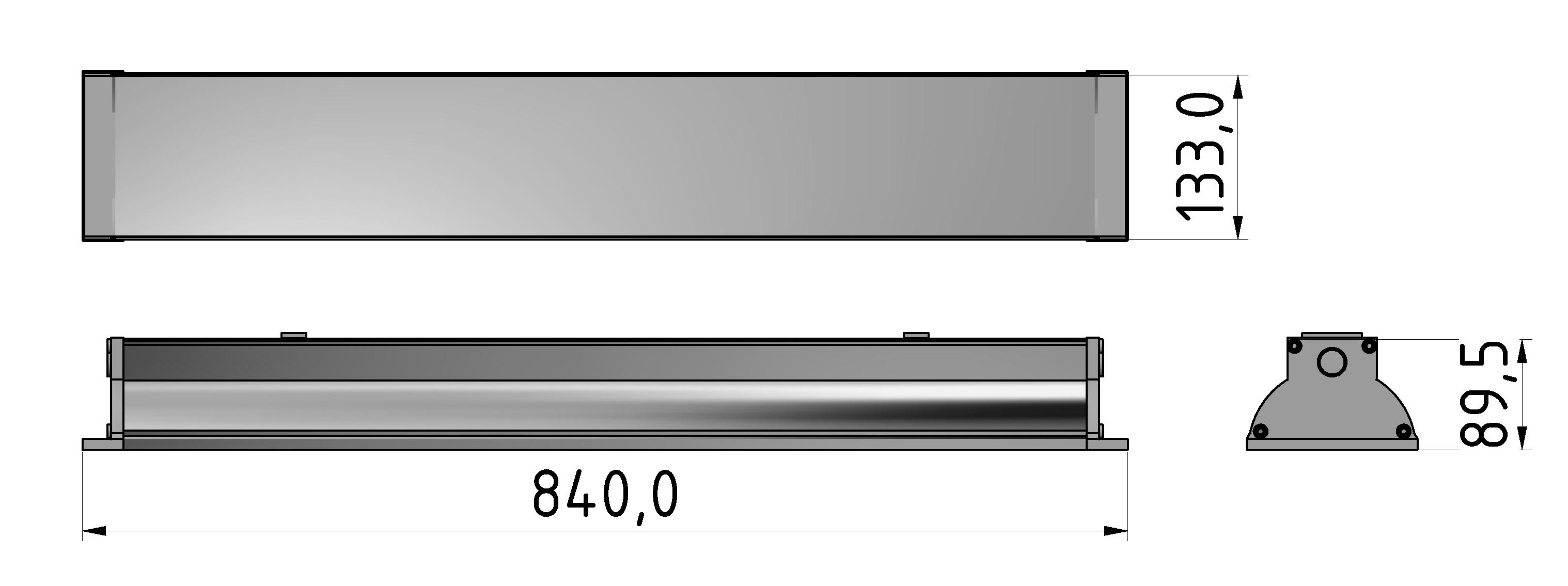 Arbeitsplatzleuchte LED 840 I P65