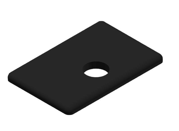 Abdeckkappe 30x45WG30, schwarz-8