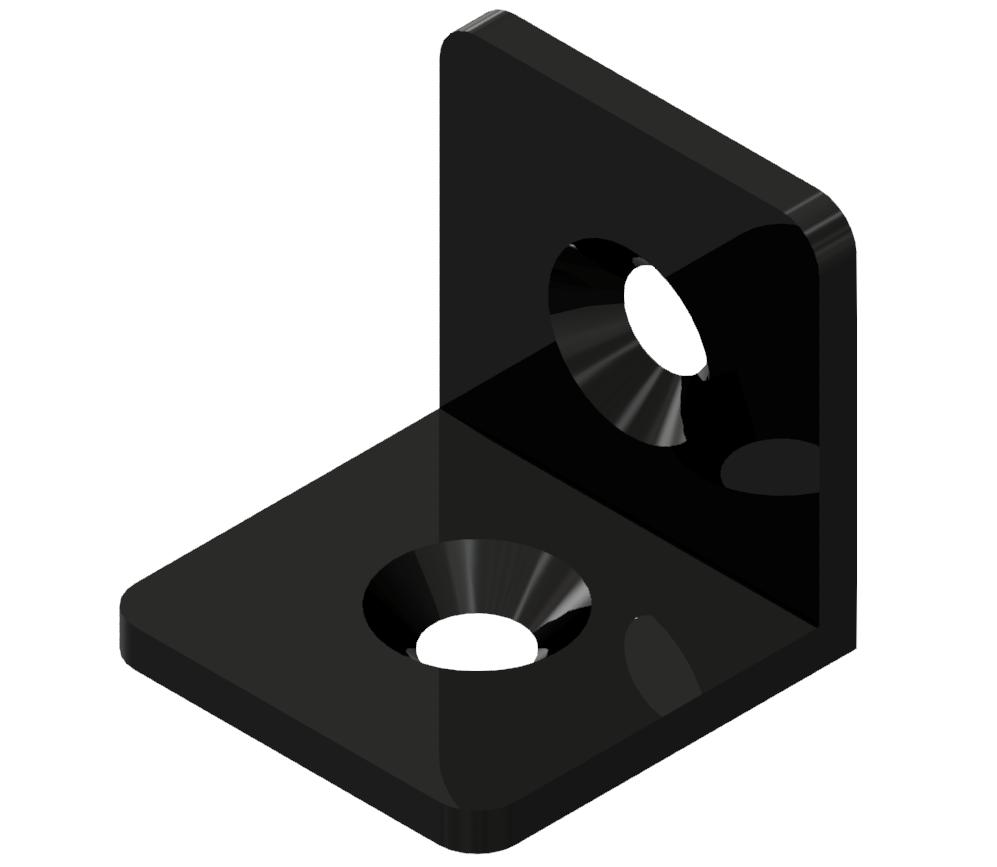 Winkel 30 ST, schwarz-8
