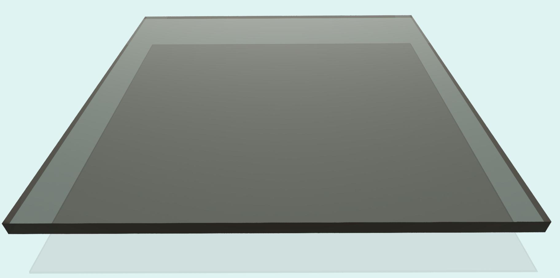 Polycarbonat 6mm, bronze / braun 851