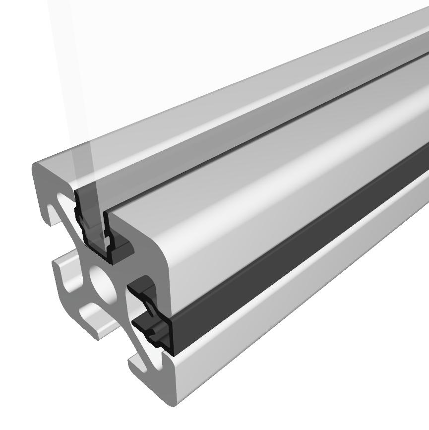Abdeck- und Einfassprofil-5  Lieferlänge 2000 mm - 5