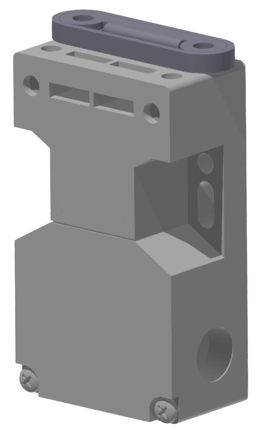 Sicherheitsschalter mit Betätiger, schwarz-8