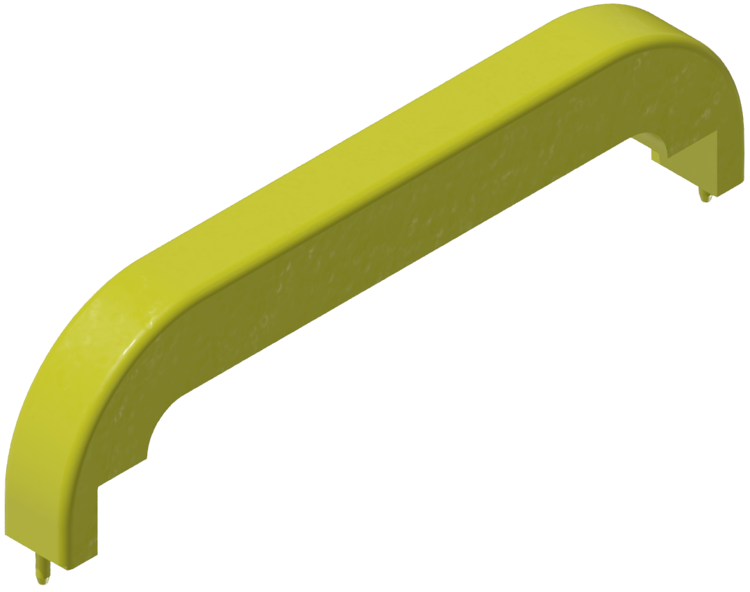 Abdeckkappe Handgriff PA 160, gelb