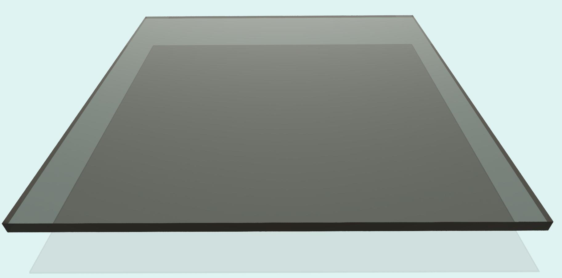 Plexiglas 5 mm, rauchfarben