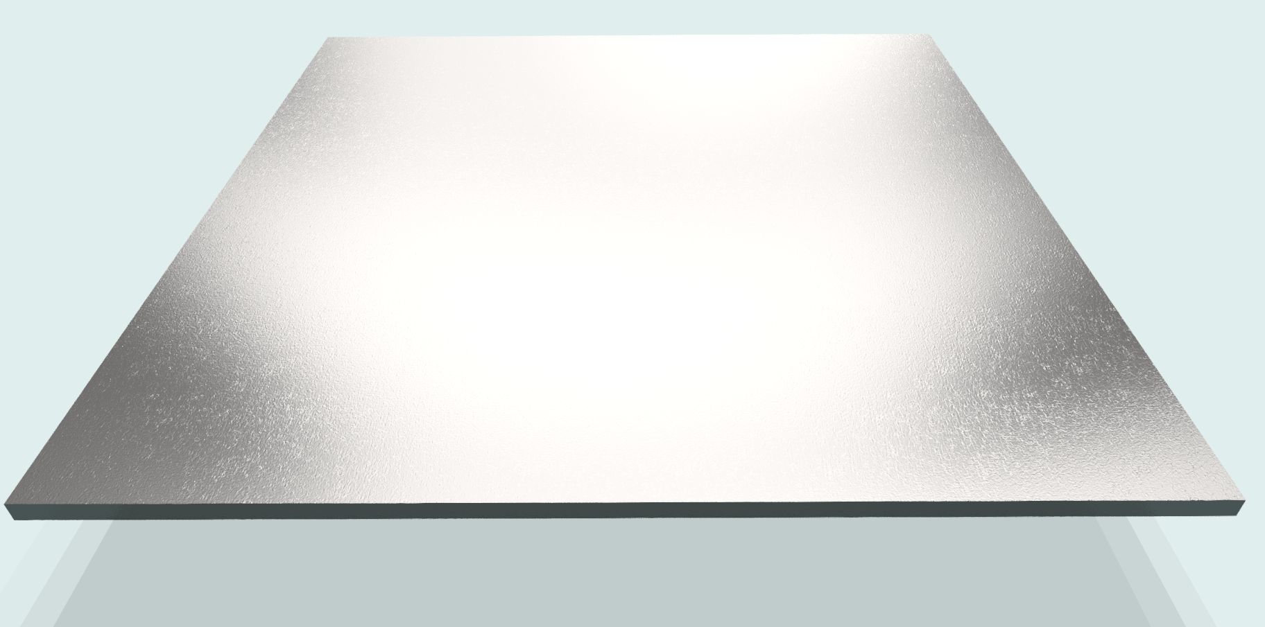 Blech 4 mm St, blank S235JR gebeizt+gefettet