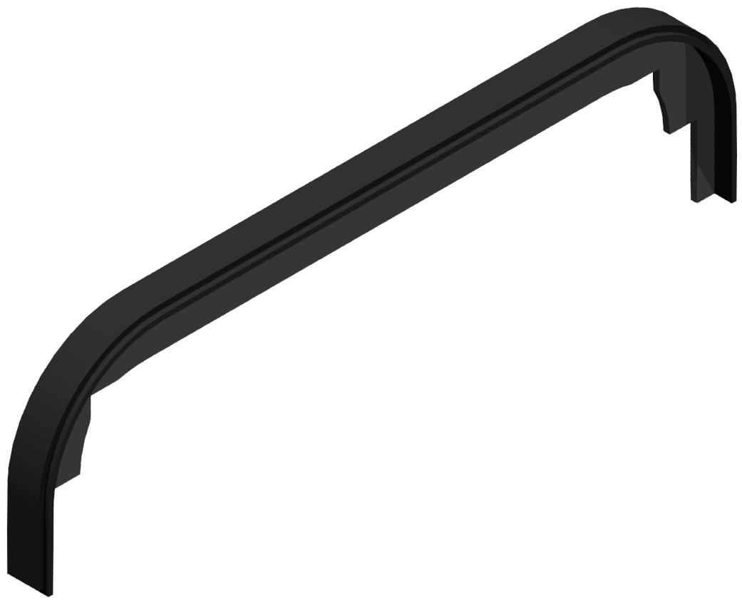 Abdeckkappe Handgriff PA 120, schwarz