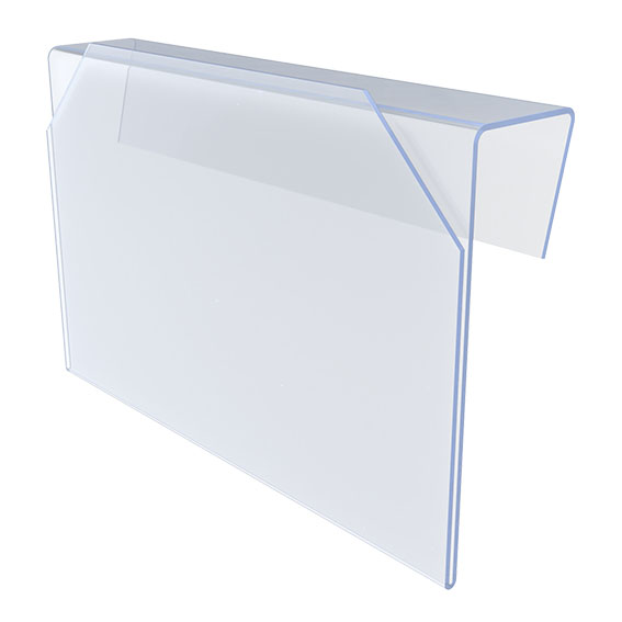 Überhänge-KANBAN-Etikettenhalter 108 x 155