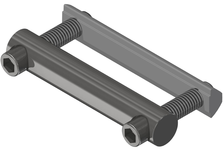 Bolzenverbindersatz 80, verzinkt-8