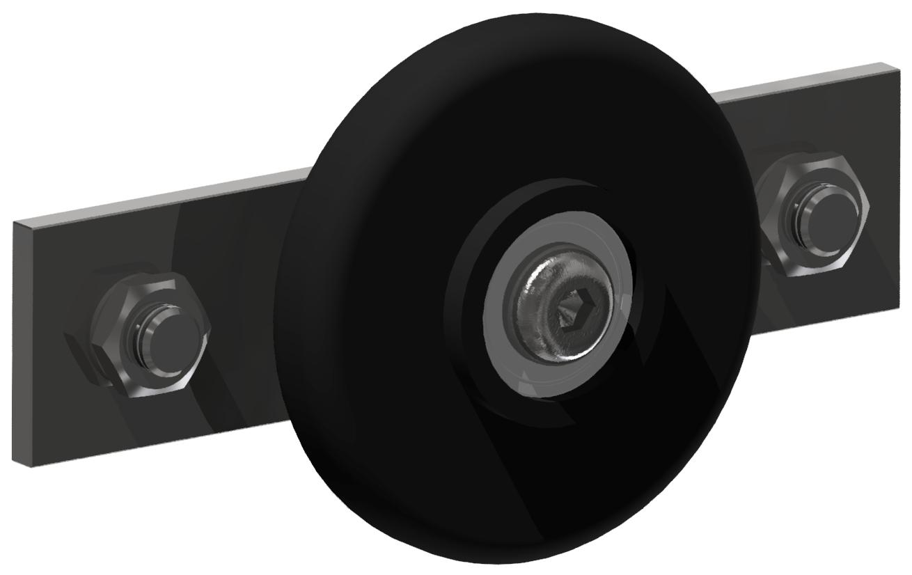 C-Schienen Lagersatz K, schwarz-8