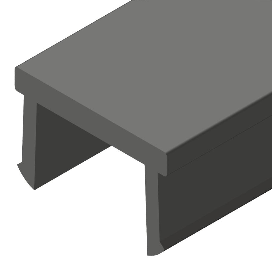 Abdeckprofil schwarz-10