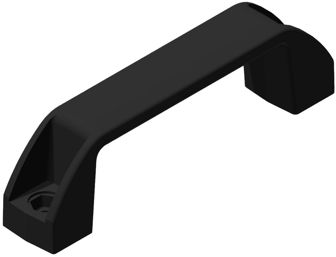 Handgriff 120 E PA, schwarz-8