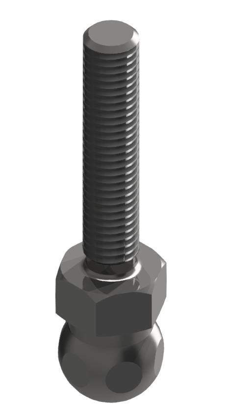 Gewindestange ST M8x40, verzinkt