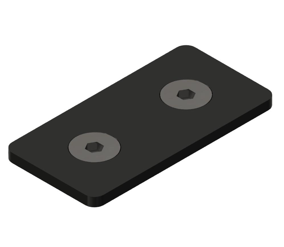 Laschensatz 20 ST, schwarz-6