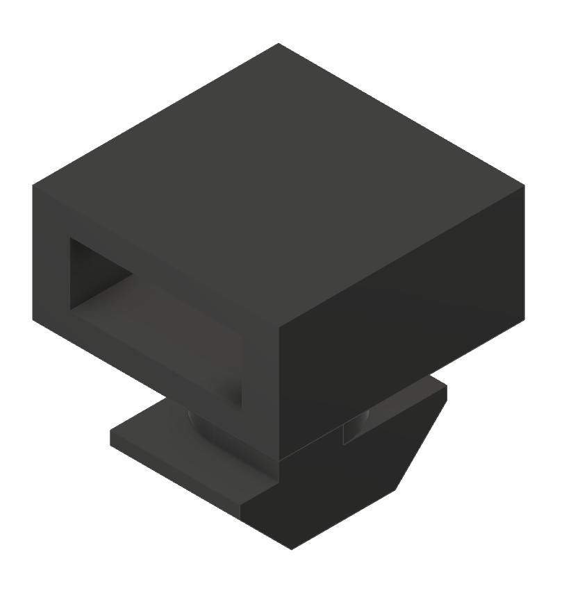 Kabelbinderblock PA, schwarz-10