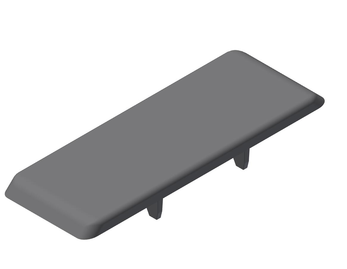 Automatik-Winkel-Abdeckkappe 8 80x80, grau