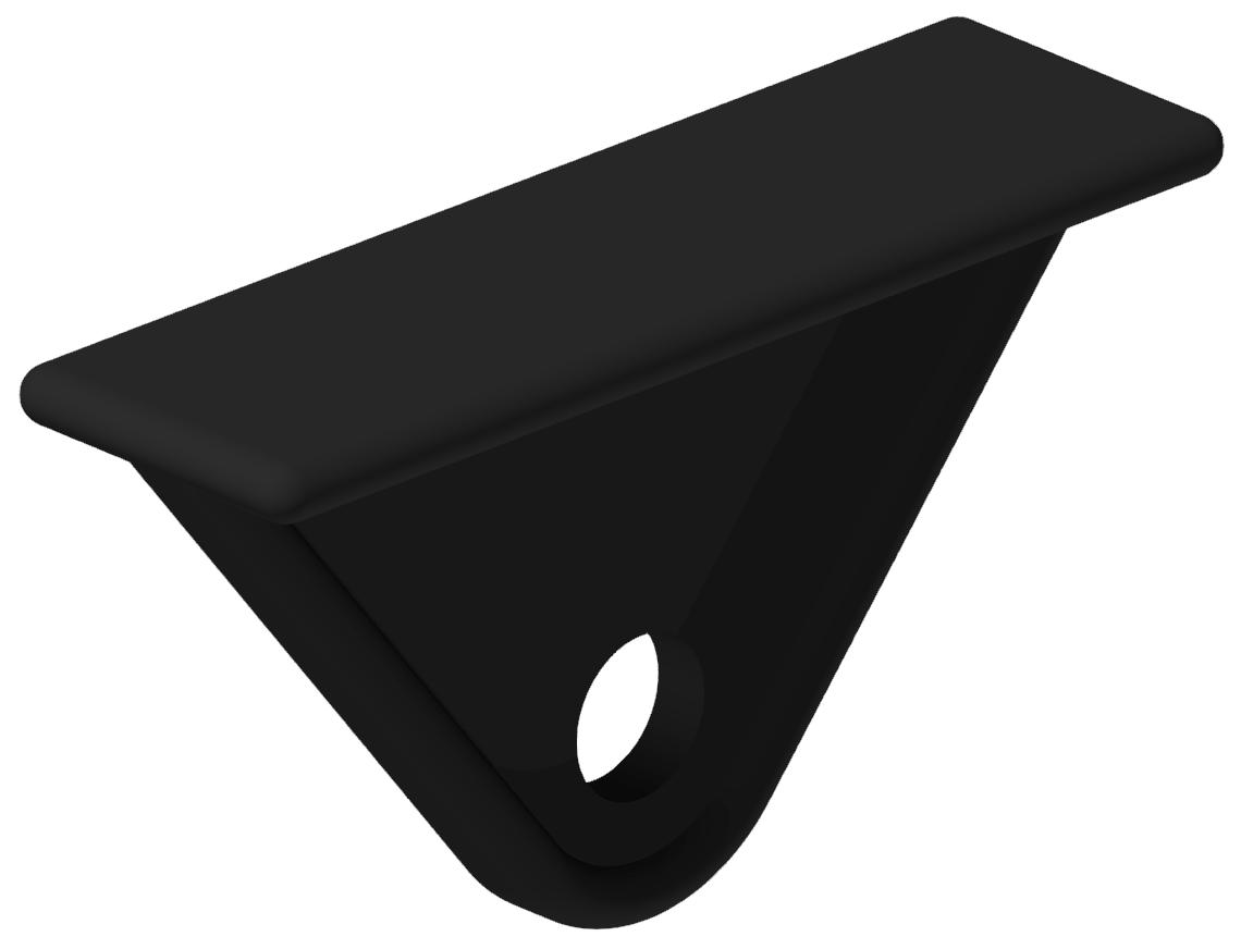 Werkzeugschlitten, schwarz - 8