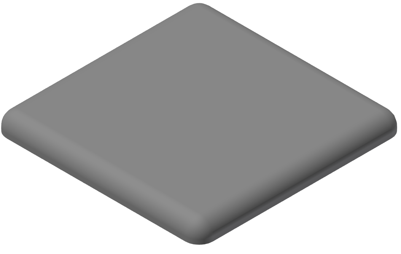 Abdeckkappe 30x30, grau-8