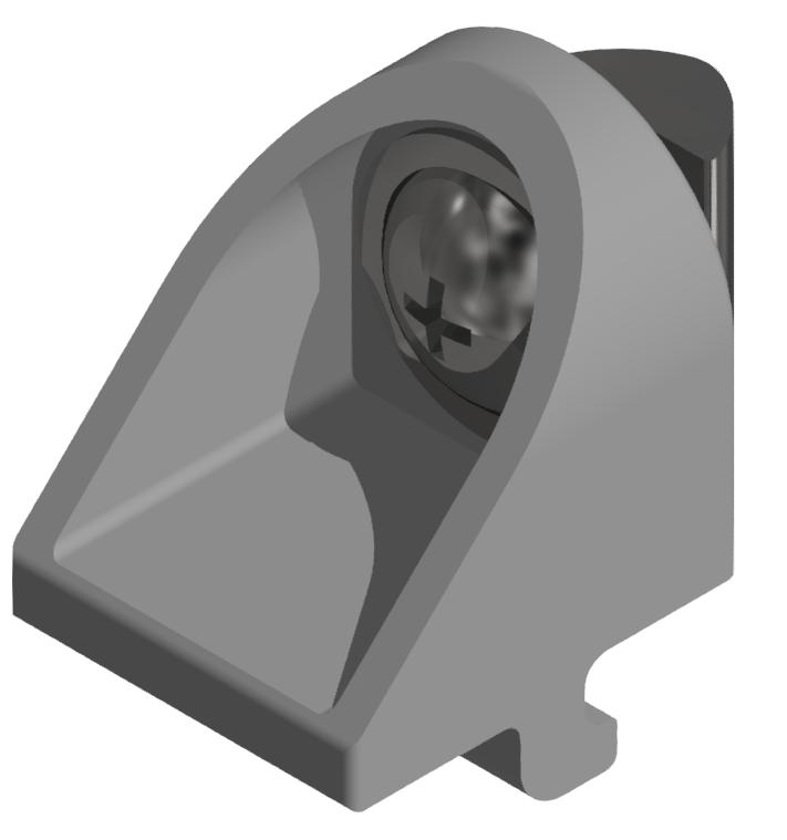 Klemmwinkelsatz 20 Zn, weißaluminium-5