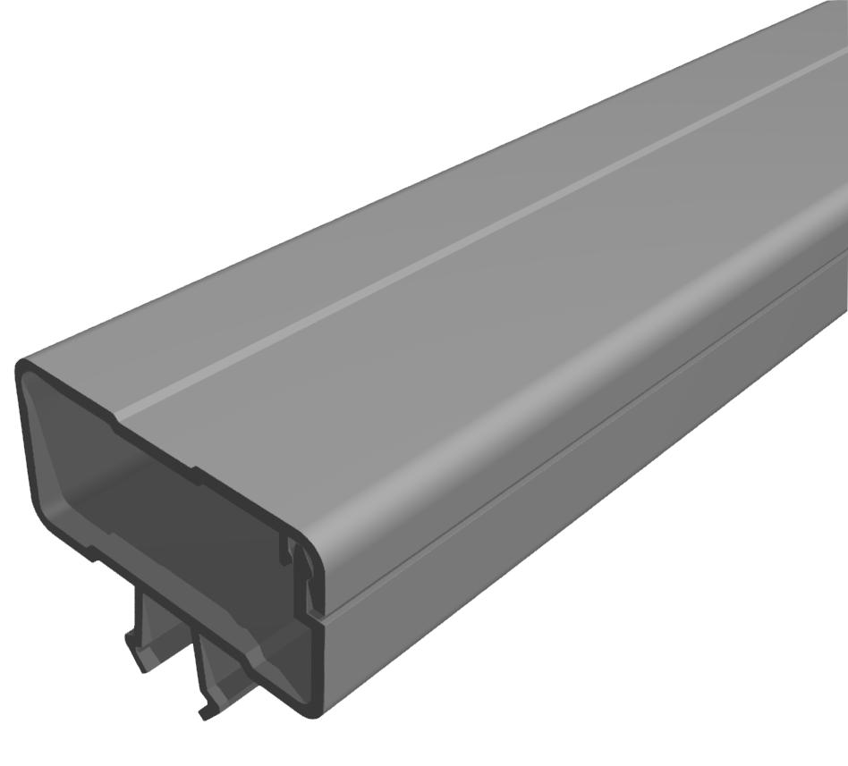 Kabelkanal 40x20 PVC grau