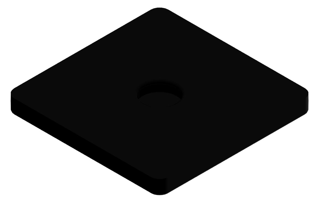 Gummieinsatz D D80, schwarz