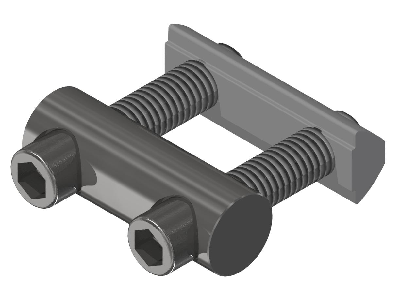 Bolzenverbindersatz 40, verzinkt-8