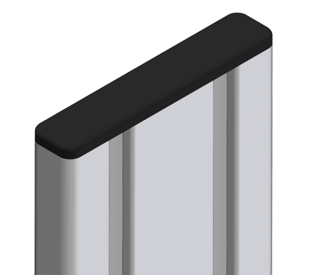 Abdeckkappe 16x80 - 8
