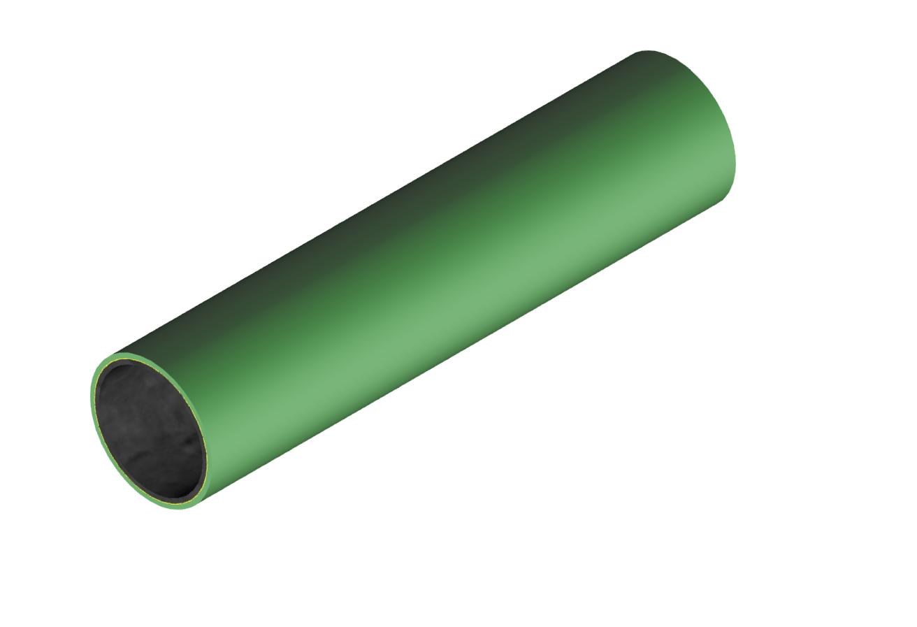 M-Rohr 1 mm grün