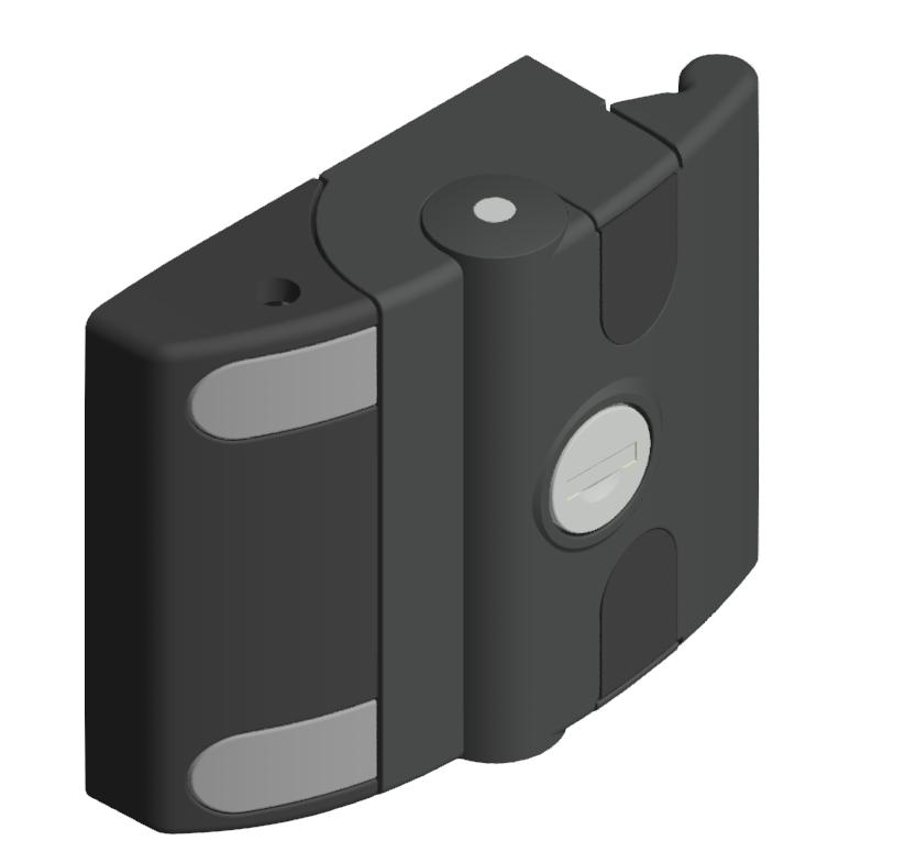 Schiebetür Verschluss ohne schwarz-8