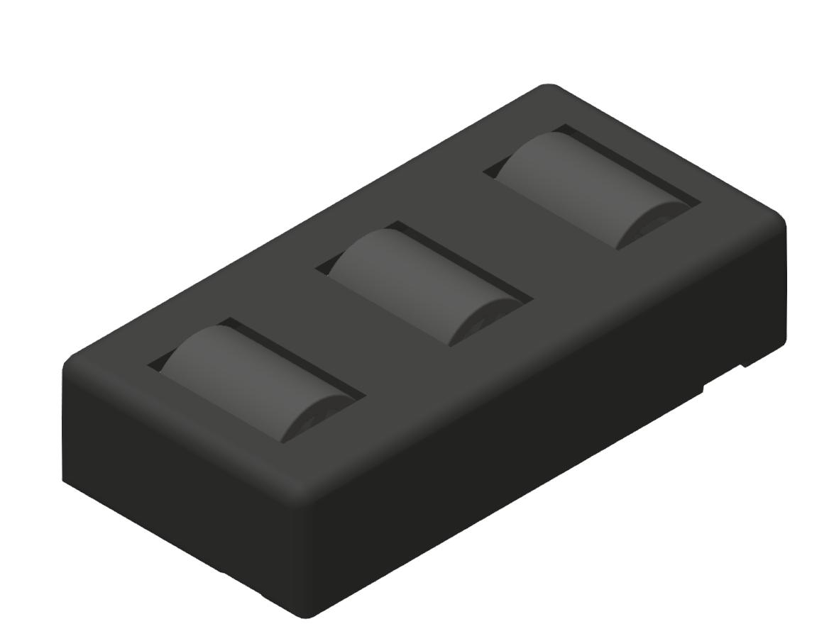 Rollenelement 80 Turbo, schwarz - 10