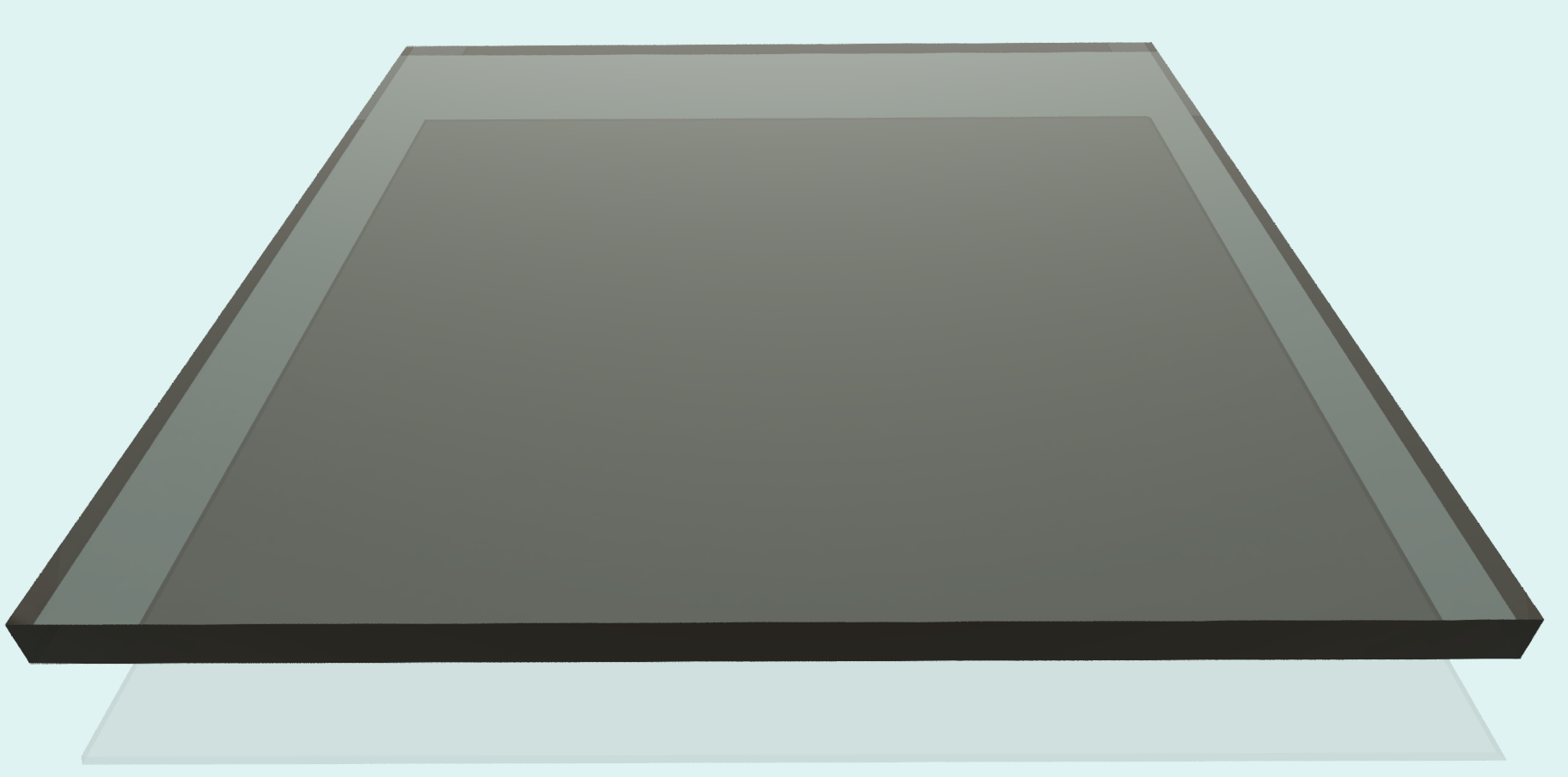 Plexiglas 8 mm, rauchfarben
