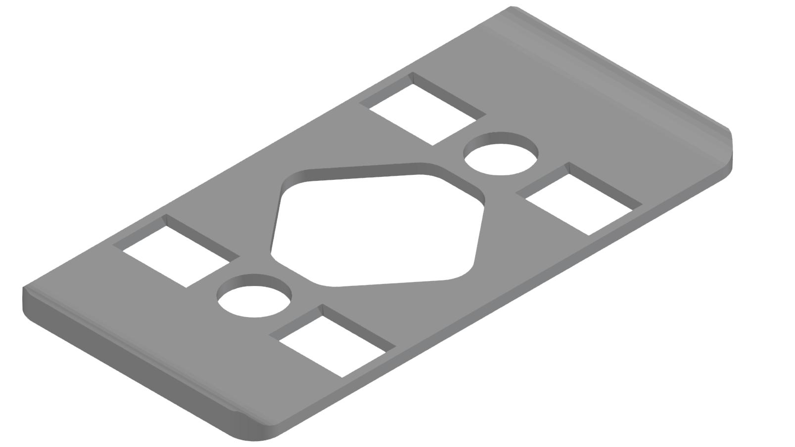 Radien-Dichtung 8 80x40 R40, grau