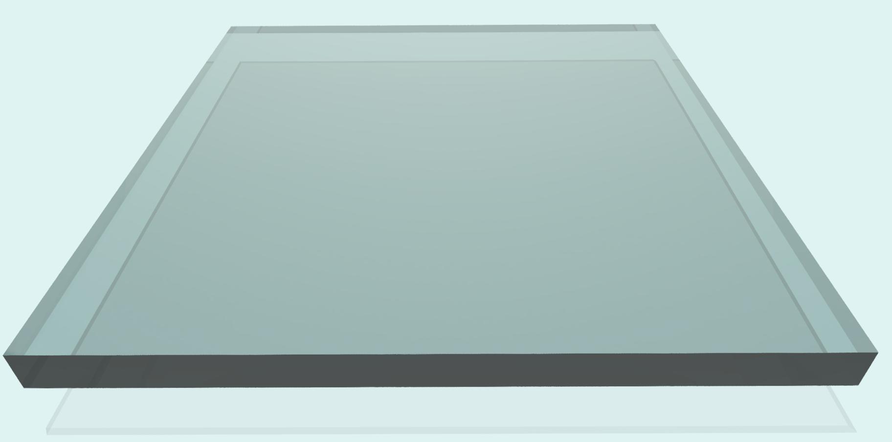 Polycarbonat 12 mm, klar