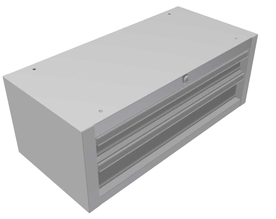 Schubladenhängeblock 2  B 670 H 250 T 316